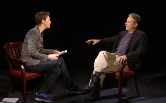 Rachel Maddow / Jon Stewart Interview